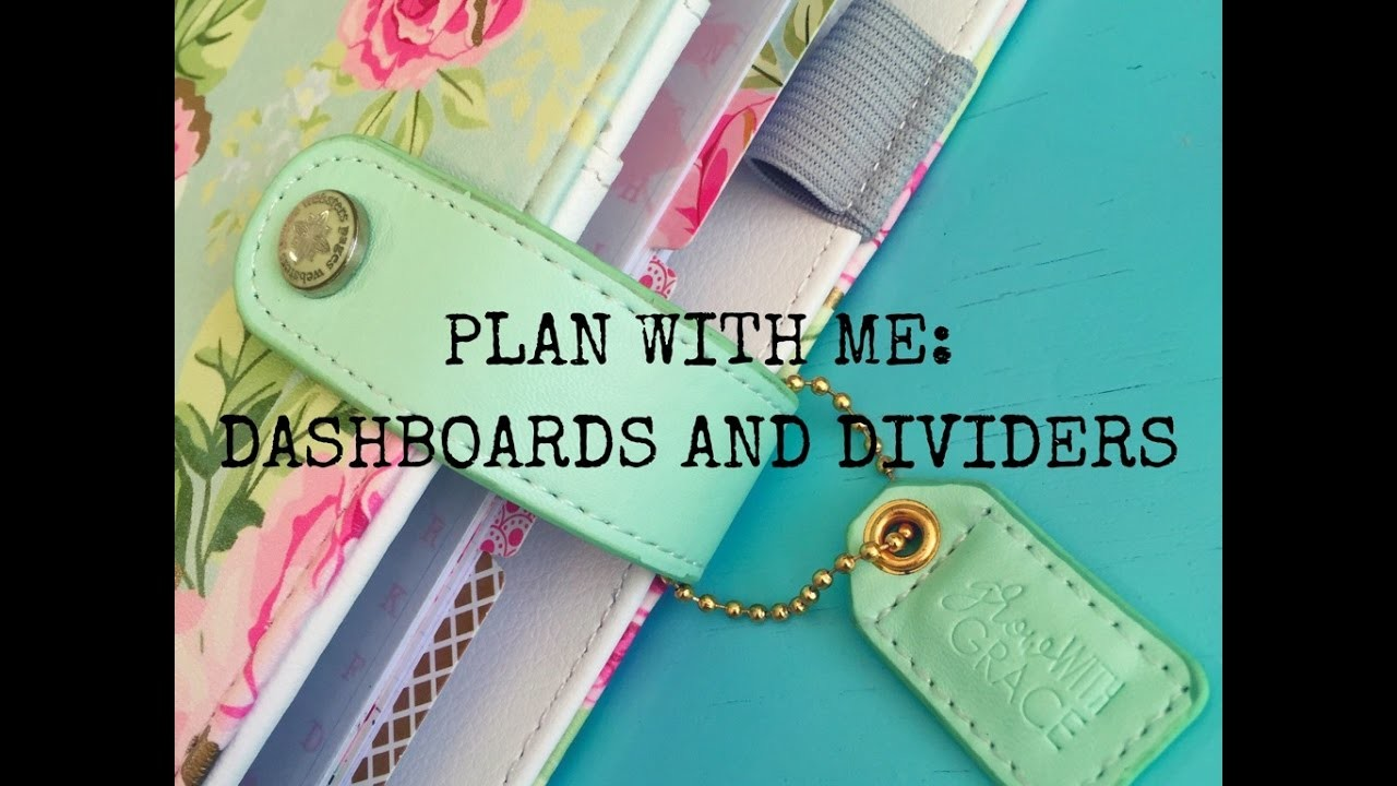 Webster's Pages Color Crush Planner: Plan With Me. Dividers and Dashboards