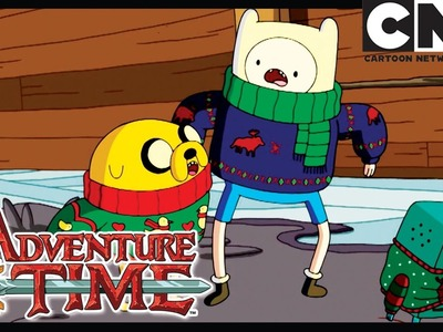 Adventure Time | The Ice King's Christmas Secret | Cartoon Network