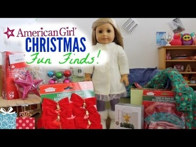 American Girl Doll Christmas Fun Finds!