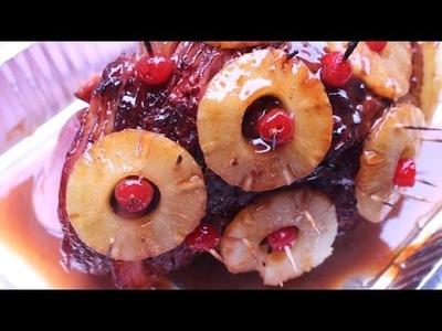 Baked Pineapple Glazed Ham For Christmas, Easter, or Thanksgiving! -I Heart Recipes