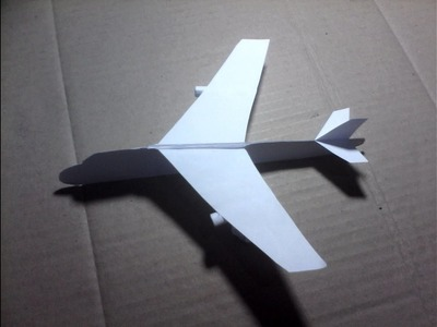 Boeing Airplane For Kids - Paper Fold Craft Origami
