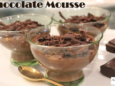 Chocolate Mousse | How To Make Chocolate Mousse Christmas Desserts | Simply Jain