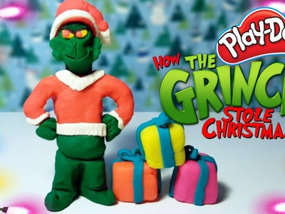 CHRISTMAS PLAY DOH TOYS – HOW THE GRINCH STOLE CHRISTMAS PLAYDOUGH DOLL
