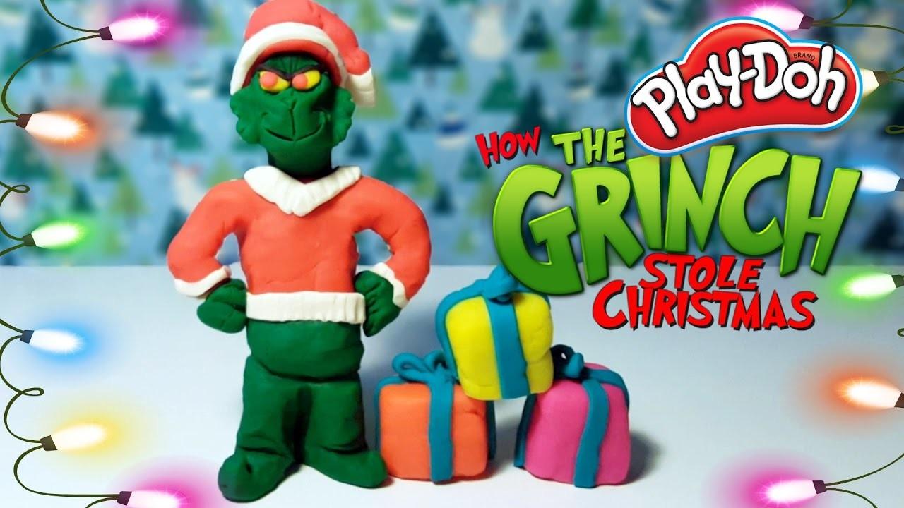 CHRISTMAS PLAY DOH TOYS – HOW THE GRINCH STOLE CHRISTMAS PLAYDOUGH DOLL