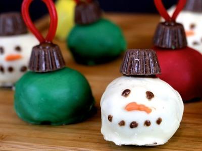 Christmas Truffles | How to Make Ornament Truffles