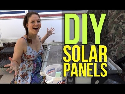DIY Build Solar Panels 2.2: Homemade from Scratch, Wiring, Encapsulant