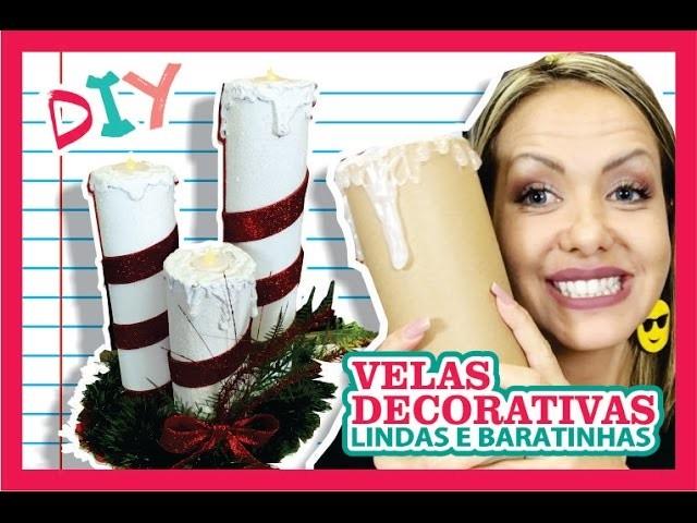 DIY by Di: Velas Decorativas #Natal-2