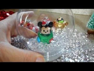 DIY Disney SNOWGLOBE! VLOGMAS DAY 4 The Mouse Diva