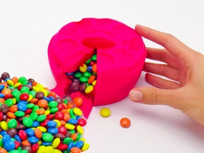 DIY M&M's Kinetic Sand Bowl and Kinetic Sand Maxi Surprise Egg