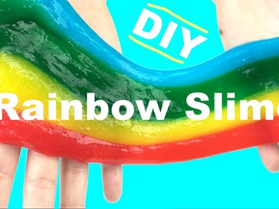 how to make slime with water no glue