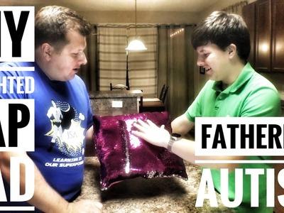 DIY Weighted Lap Pad Sensory Fidget   Fathering Autism