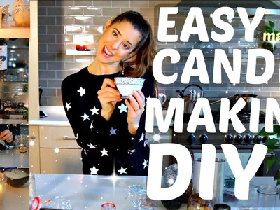 Easy Candle Making TUTORIAL: DIY Magic Candles!