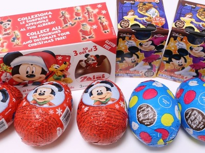 Easy Christmas Cake with Disney Surprise Eggs
