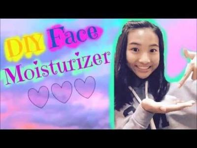 EASY DIY Face Moisturizer