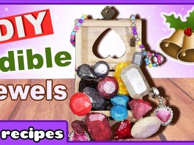 Edible Chocolate Jewels | Edible Christmas Decor | Gem Truffles with Edible Glitter | Christmas DIY