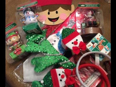 ELF ON THE SHELF: $ DOLLAR TREE CHRISTMAS HAUL