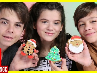 GINGERBREAD COOKIE DECORATING CHRISTMAS ORNAMENT CHALLENGE!  |  KITTIESMAMA