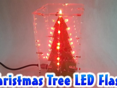 How To Assembling Christmas Tree LED Flash