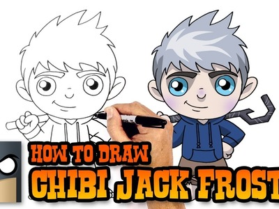 How to Draw Jack Frost | Holiday Drawing Lesson