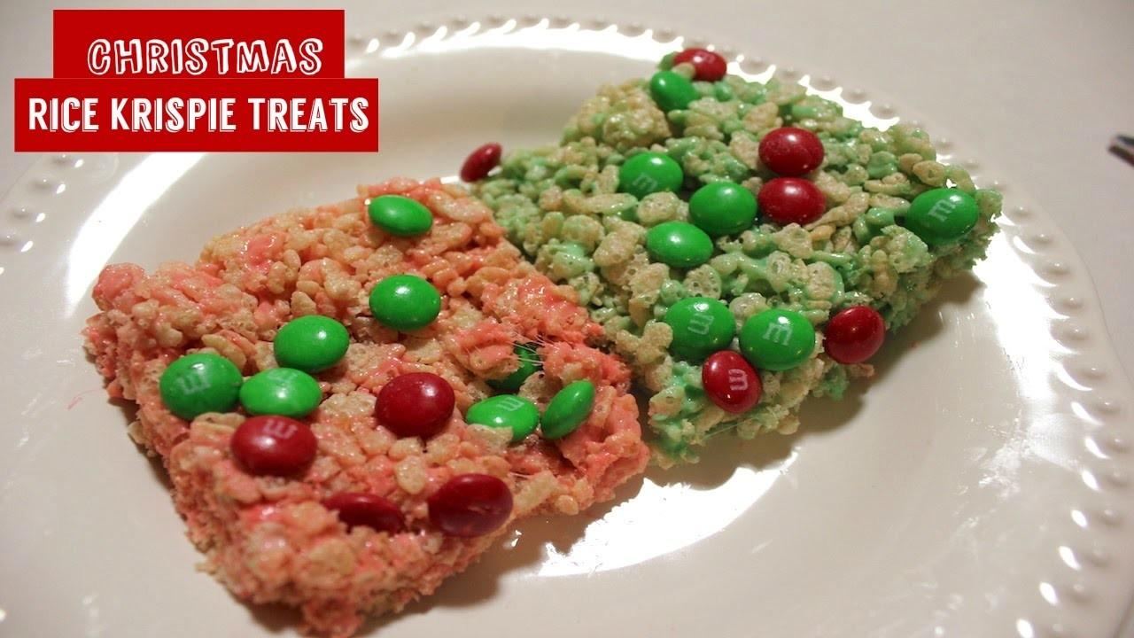How To Make Christmas Rice Krispie Treats: An Easy Homemade Christmas Recipe