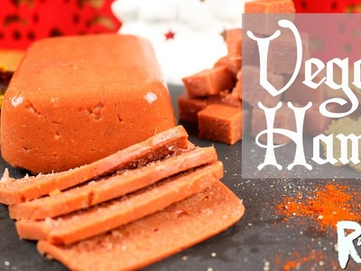 HOW TO MAKE VEGAN HAM | Gluten-Free Christmas Recipe