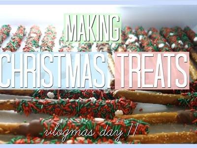 MAKING CHRISTMAS TREATS || Vlogmas Day 11