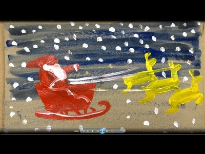 Painting christmas for kids | How to draw santa claus for kids 4 | Painting for kids | Art for kids