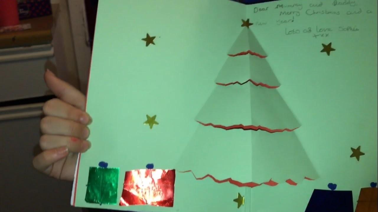 Soph made us a Christmas card [Vlog #1123]