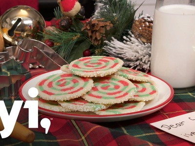 Sweet Treats: Christmas Swirl Sugar Cookie Recipe | FYI