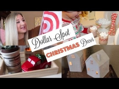 Target Dollar Spot Christmas Haul 2016 + How to Decorate
