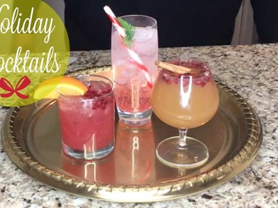 The BEST Christmas Cocktails | Quick & Easy Holiday Drinks | Low-calorie Cocktail