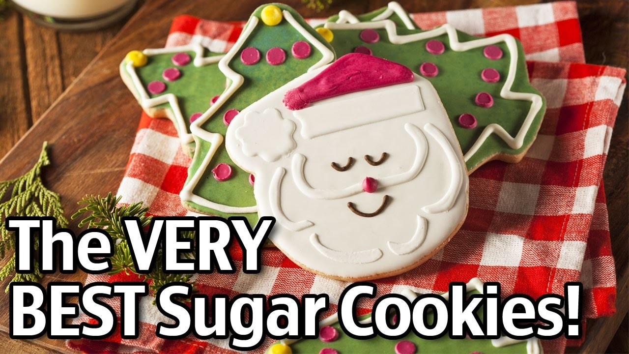 The BEST Homemade Christmas Sugar Cookies!