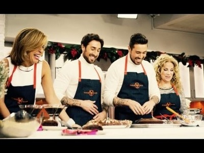 The 'TODAY SHOW' on NBC Live from New York - Twintastico Christmas Desserts