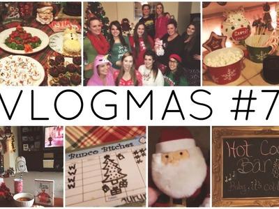 VLOGMAS #7 ♡ Christmas Bunco.Gift Exchange & Christmas Festivities Update