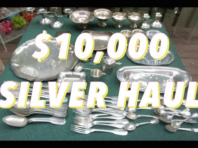 $10,000 in Silver & Gold Found at Estate Sale. This is How You Profit BIG