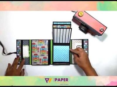 Camera Album DIY Tutorial - by The Paper Wonderz, Laxmi Pillai