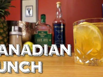 Canadian Punch - How to Make an Awesome Party Drink with Rye Whiskey & Rum