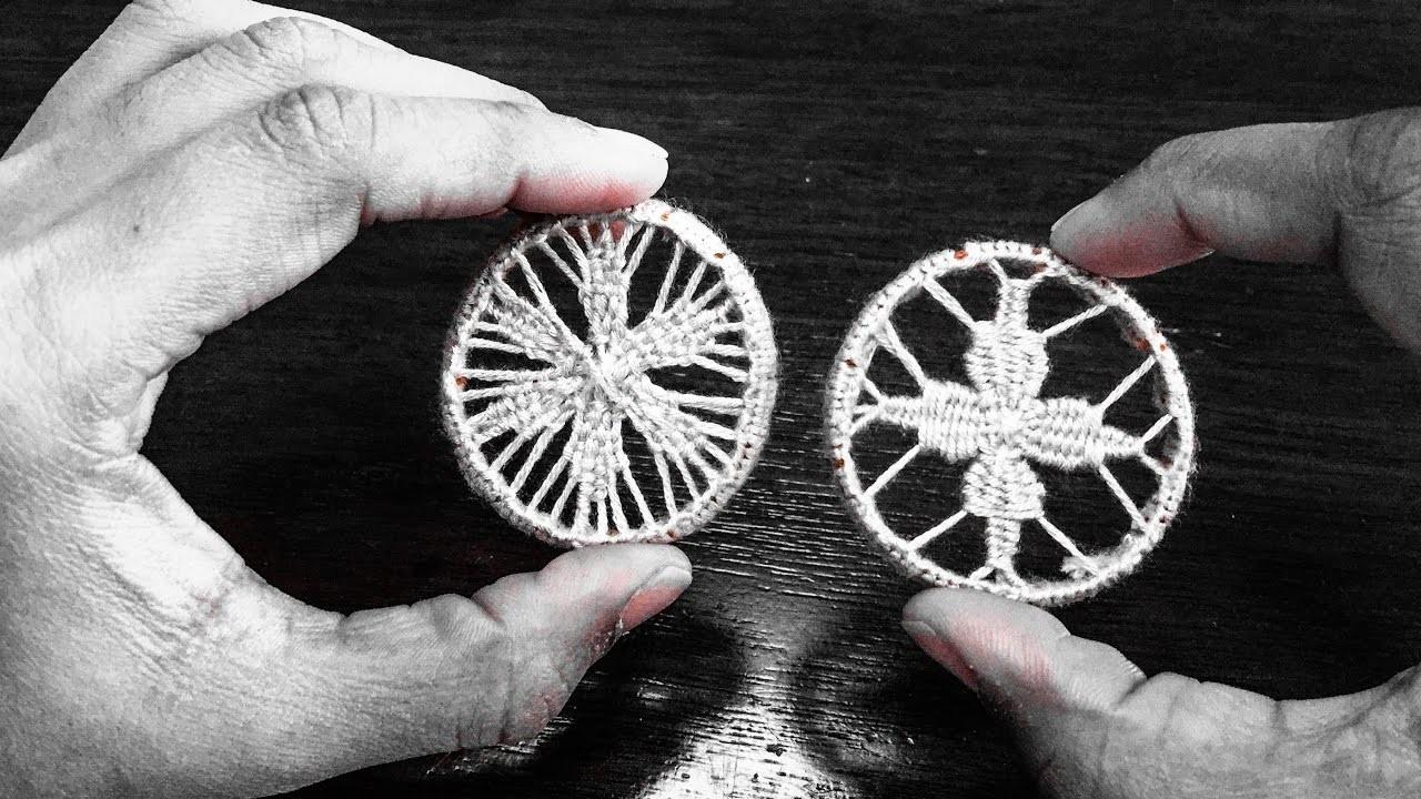 Crochet Pattern - Teneriffe Lace