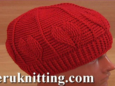 Crochet Red Heart Hat Tutorial 180