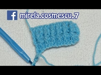 CROSETAT - Model elastic crosetat (Crochet Elastic band)
