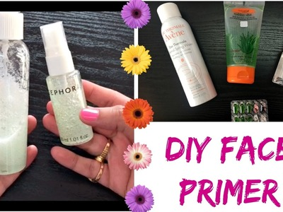 DIY Face Primer for Dry, Oily Sensitive Skin | How to use Primer | Beginners Tutorial