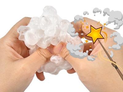 DIY How to Make Crystal Crunchy Fishbowl Slime, ASMR Mode