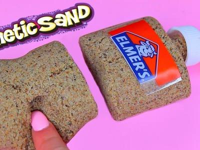 DIY How To Make 'Kinetic Sand Elmer's Glue' Learn Colors Slime Foam Clay Icecream