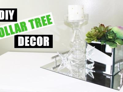 DOLLAR TREE DIY Room Decor Dollar Store DIY Mirrored Faux Succulent Garden DIY Mirror Decor