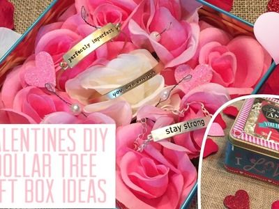Dollar Tree DIY: Valentines Gift Box Ideas
