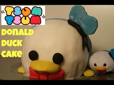 Donald Duck Tsum Tsum Cake DIY