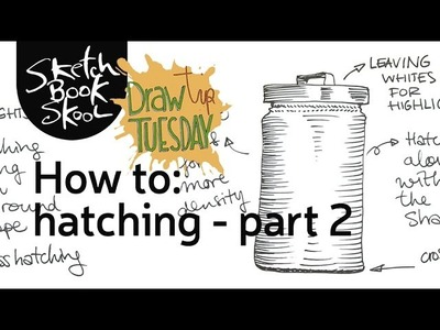 Draw Tip Tuesday: How To Hatch, part 2