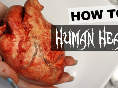 EASY How-to: Make a Fake Heart