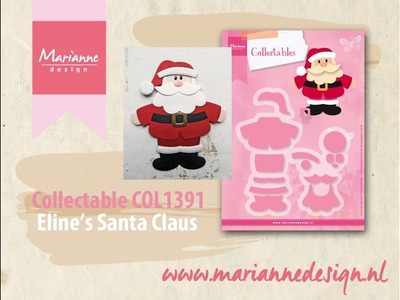 Eline's Santa Claus Collectable COL1391 | Marianne Design