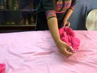 How to create make Handmade Cat : Towel Art